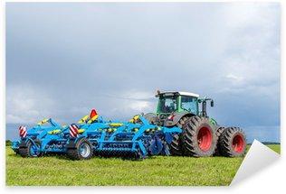 Sticker Pixerstick Tracteur