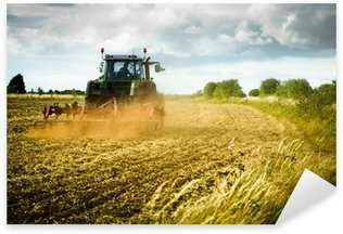 Pixerstick for All Surfaces Tractor ploughs field
