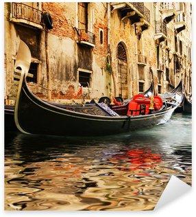 Sticker Pixerstick Traditional Venice gandola tour