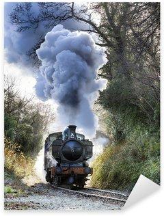 Sticker Pixerstick Train a vapeur