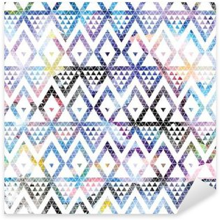 Pixerstick for All Surfaces Tribal galaxy seamless pattern.