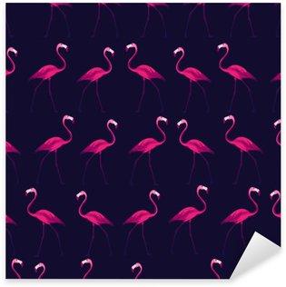 Pixerstick Sticker Tropische naadloos patroon.