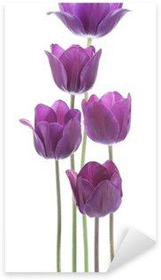 Sticker Pixerstick Tulipe