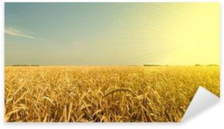 Sticker Pixerstick Vagues ambres du grain
