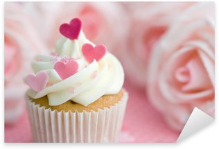 Pixerstick Sticker Valentijn cupcake