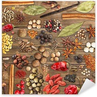 Various spices Sticker - Pixerstick
