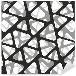 Sticker Pixerstick Vecteur seamless. Moderne texture 3d élégant de maille.