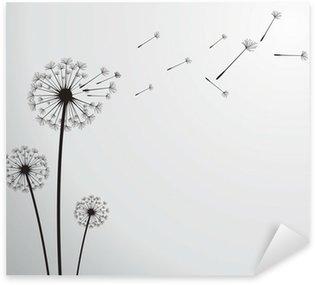 Sticker - Pixerstick vector dandelion