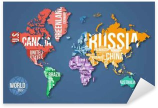 Vector detailed world map with borders and country names vector detailed world map with borders and country names education business and travel infographic gumiabroncs Images