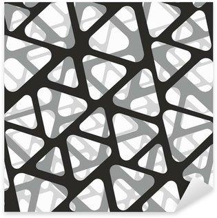 Pixerstick Sticker Vector naadloos patroon. Moderne stijlvolle 3D-structuur van gaas.
