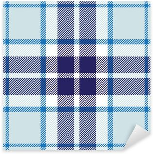 Sticker - Pixerstick vector seamless tartan plaid pattern