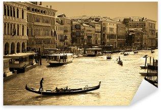 Sticker Pixerstick Venise en sépia
