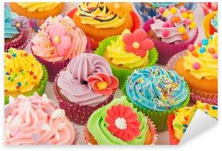 Pixerstick Sticker Verjaardag cupcakes