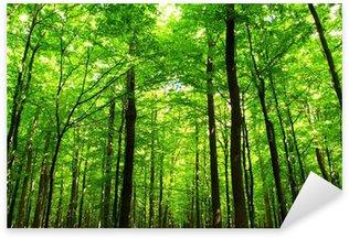 Sticker Pixerstick Vert juteux de la forêt