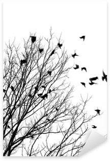 Pixerstick Sticker Vliegende vogels