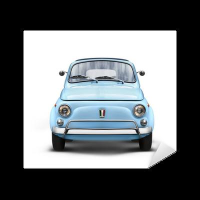 sticker voiture italienne sur fond blanc pixers nous vivons pour changer. Black Bedroom Furniture Sets. Home Design Ideas