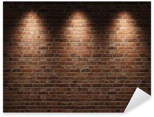 Sticker Pixerstick Wall brick