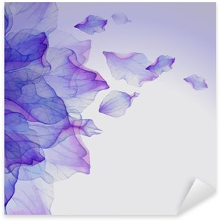 Pixerstick Sticker Watercolor floral round patronen.