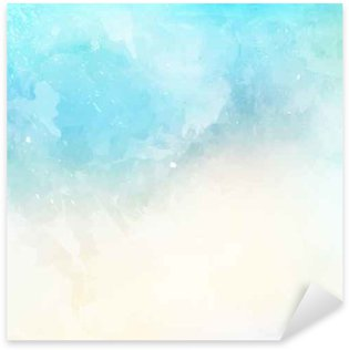 Sticker - Pixerstick Watercolor texture background