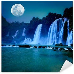 Sticker - Pixerstick Waterfall