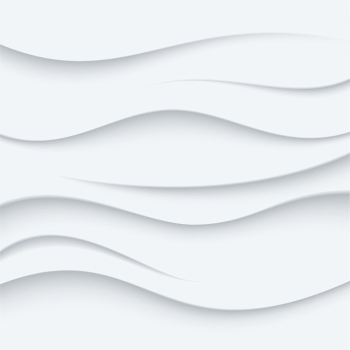 Sticker - Pixerstick White Wavy lines vector Background abstract. Sand top view. - Sales