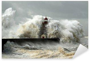 Sticker - Pixerstick Windy Coast