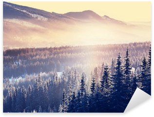 Winter mountains Sticker - Pixerstick