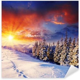 Sticker - Pixerstick winter