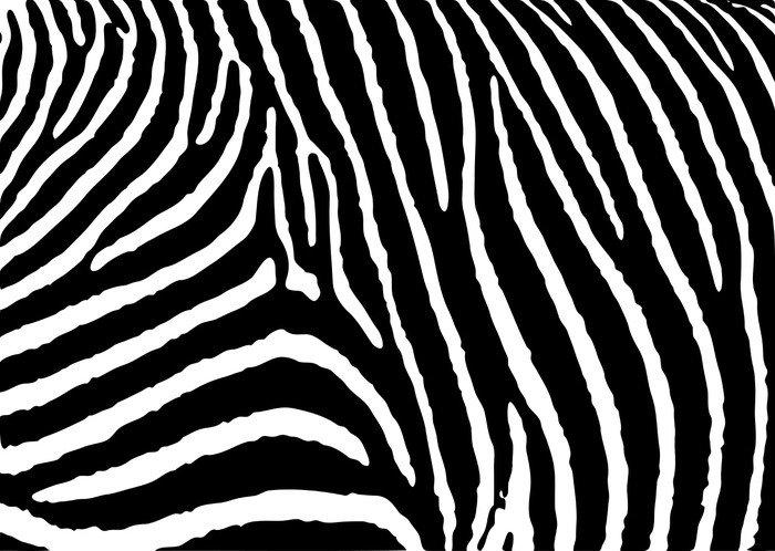 Sticker - Pixerstick zebra pattern large - Styles
