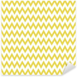 Zigzag pattern vector Sticker - Pixerstick