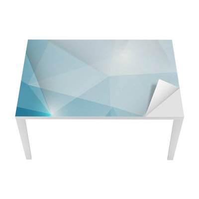Abstract geometric triangles background Table & Desk Veneer