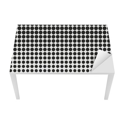 Abstract halftone. Black dots on white background. Halftone background. Vector halftone dots. halftone on white background. Background for design Table & Desk Veneer