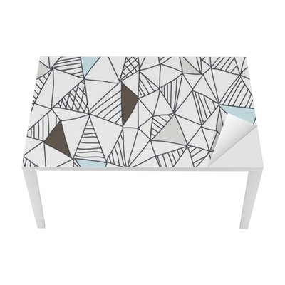 Abstract seamless doodle pattern Table & Desk Veneer
