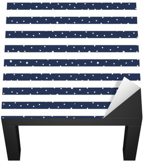 Abstract Seamless Horizontal striped pattern