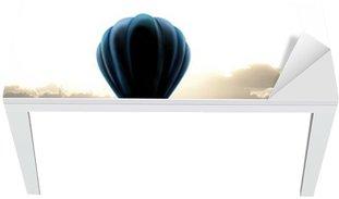air balloon on sky Table & Desk Veneer