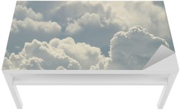 Table & Desk Veneer blue sky and beautiful clouds