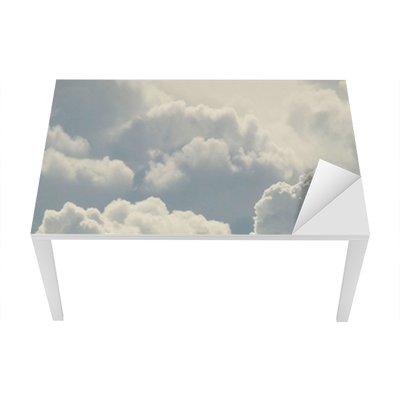 blue sky and beautiful clouds Table & Desk Veneer