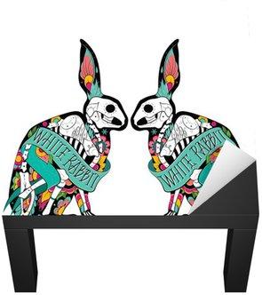 Colorfull rabbits