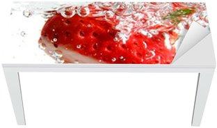 fizzy strawberries