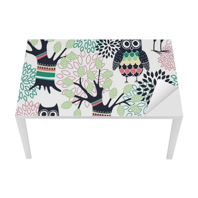 Forest seamless pattern Table & Desk Veneer