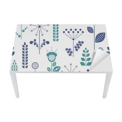 nordic floral Table & Desk Veneer