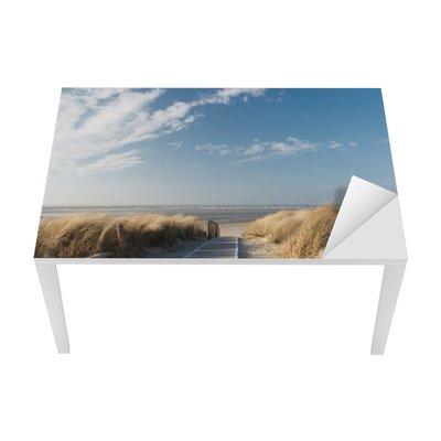 North Sea beach Table & Desk Veneer