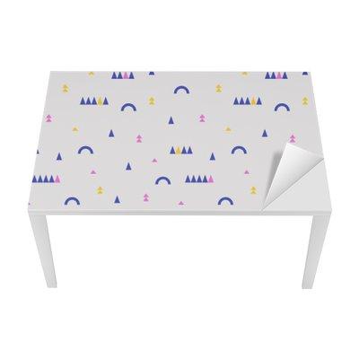 seamless geometric pattern Table & Desk Veneer
