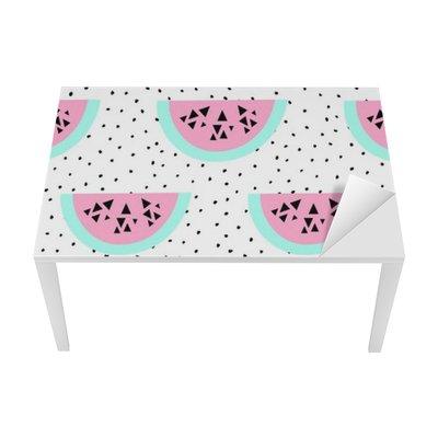 Seamless Watermelon Pattern Table & Desk Veneer