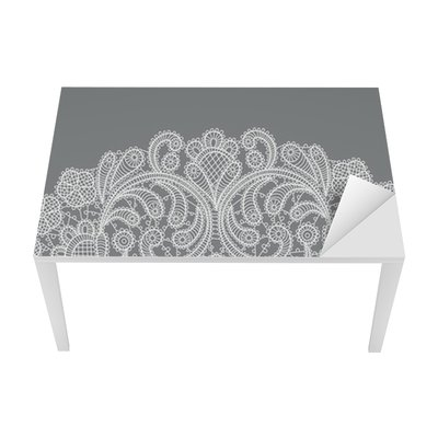 vector background with lace ornament Table & Desk Veneer