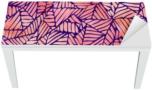 Watercolor abstract seamless pattern. Vector illustration Table & Desk Veneer