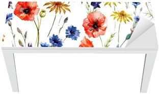 Wildflowers Table & Desk Veneer