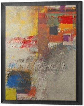 Tableau en Cadre Abstraction