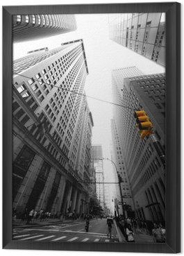 Tableau en Cadre Avenue New Yorkaise