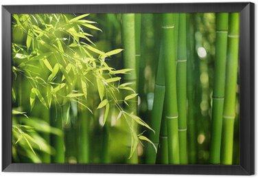 Tableau en Cadre Bambou foret